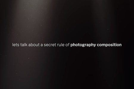 The secret rule of photo composition: the Middle Line