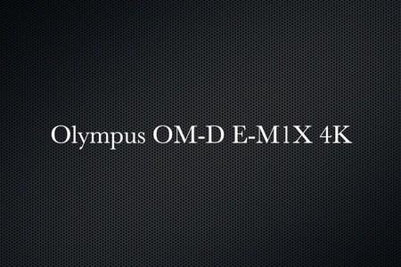 Olympus OM-D E-M1X 4K