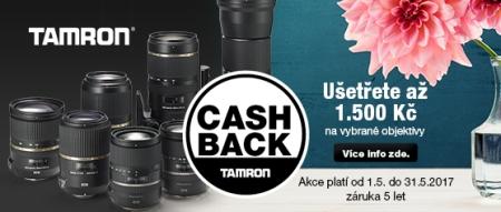 Tamron Cash Back Máj 2017