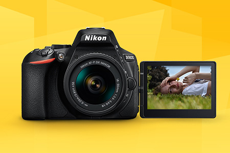 Nikon D5600 - len malé vylepšenie