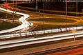Svetelné stopy áut