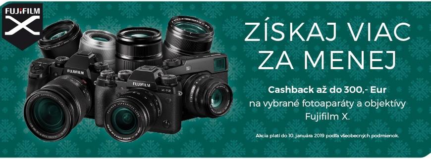 Zimný Cashback FUJIFILM X