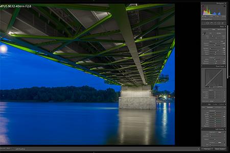 Adobe Lightroom CC - panoráma a HDR