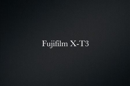 Fujifilm X-T3 4K