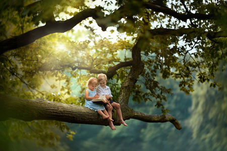 B&W child photography - víťazné fotografie