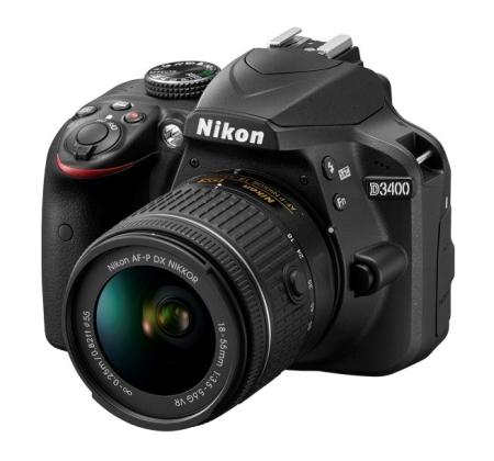 Nový Nikon D3400 a dva nové objektívy