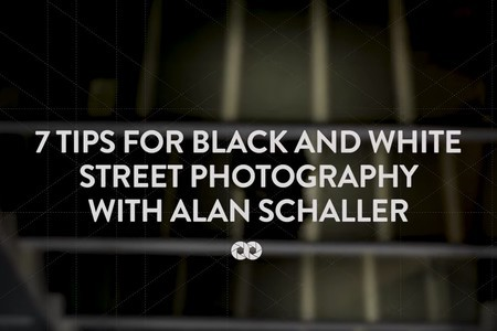 7 tips for black & white street photography with Alan Schaller