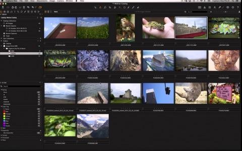 Capture One – z paměťové karty k finální fotografii