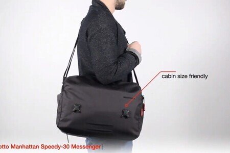 Manfrotto Manhattan Speedy-30 Messenger - Boost the space of you