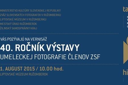 40. ročník umeleckej fotografie členov ZSF