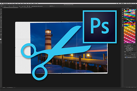 Adobe Photoshop CC - Content-Aware Crop