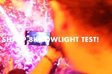 SHARP 8K LOWLIGHT TEST!! (UPLOADED IN 8K!!) - Kinotika Hosted By