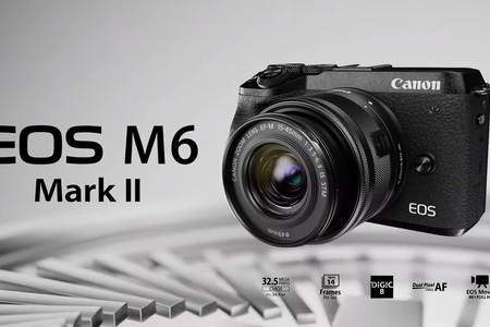 Here is the Canon EOS M6 Mark II
