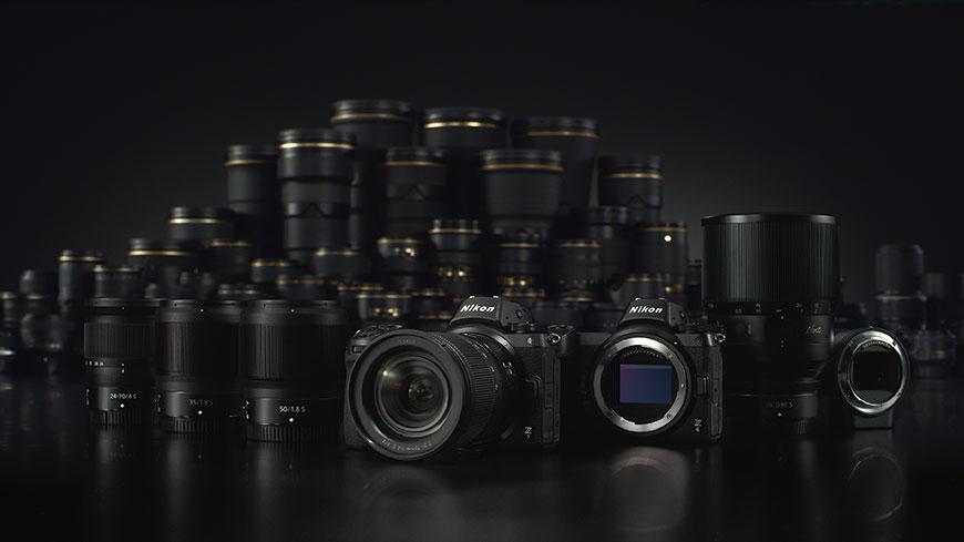 Z DSLR na Nikon Z