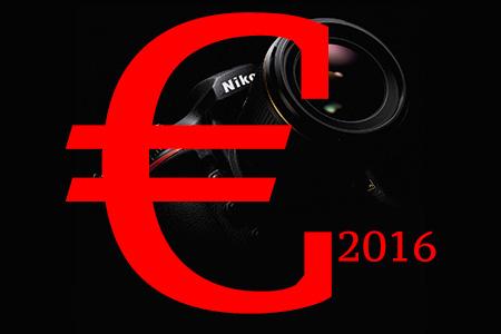 2016 v znamení zdražovania fototechniky