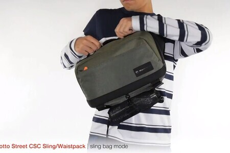 The Street Sling by Manfrotto: tutorial and features