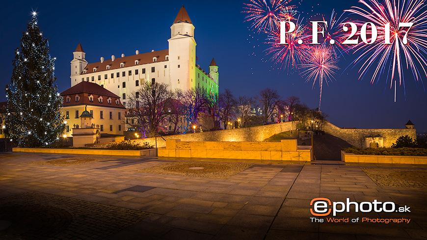 Novoročenka - Bratislavský hrad