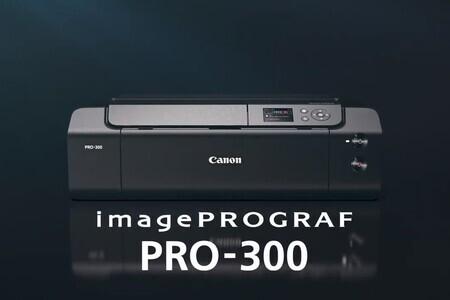 """Canon imagePROGRAF PRO-300 13"""" Professional Photographic Inkjet"""