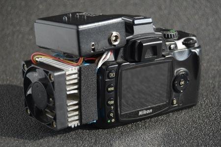 Prestavba DSLR na chladenú astrokameru - Modifikácia