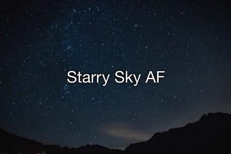 E-M1 Mark III: Starry Sky AF