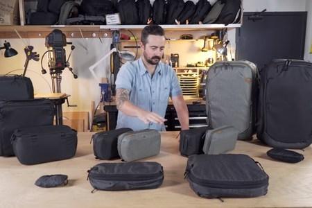 Peak Design Travel Packing Tools - Setup & Use
