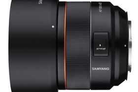 Samyang uvádí nový objektiv AF 85mm F1.4 EF pro full frame digitální zrcadlovky Canon