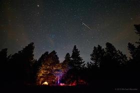 Meteorický roj - Perzeidy 2015