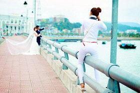 Fotografie, ktoré ukazujú: Svadobní fotografii sú blázni :)