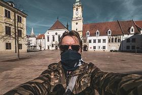 Vyľudnená Bratislava