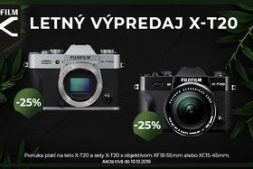 Pokračovanie úspešnej akcie na Fujifilm X-T20
