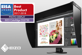 Monitor EIZO ColorEdge CG2730  získal cenu EISA Award 2017–2018