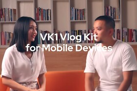Godox: Introducing the VK1 Vlog Kit for Mobile Devices