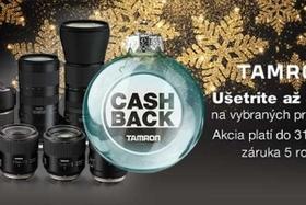 Tamron - Akcia Cash Back Vianoce 2017