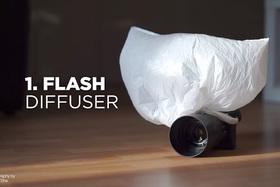 Improvizujeme:  Plastové vrecko pri fotografovaní