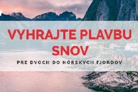 Vyhrajte plavbu snov pre dvoch do nórskych fjordov nákupom Canon v Prolaike