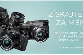 Fujifilm -  Jarný Cashback a akcia na X-T2
