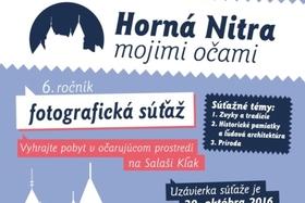 Horná Nitra mojimi očami 2016