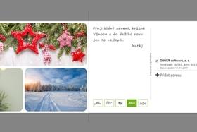 Pripravte si vlastnú pohľadnicu s vianočným prianím. Zvládnete to zo svojho počítača