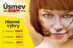 1000 EUR za najkrajší úsmev!