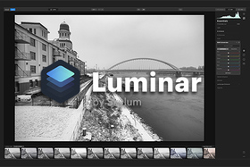 Skylum Luminar 4 - zimná fotografia