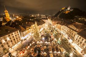 Adventné a vianočné trhy v Salzburgu a Grazi