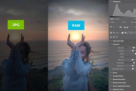Porovnávame RAW s JPEG