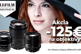 Fujifilm X- akcia na objektívy 14.09. - 20.09.2020