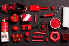Ako fotografovať jednu farbu: Červená