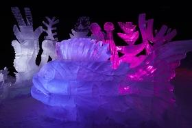 Festival ledových soch se po roce opět vrací na Pustevny