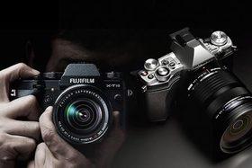 Fujifilm X-T10 vz. Olympus OM-D E-M5 Mark II