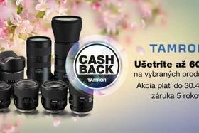 Tamron - Akcia Cash Back Apríl 2018