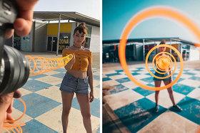 Fotograf používa kreatívne triky na snímanie úžasných obrázkov