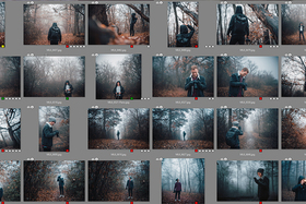 Upratovanie fotoarchívu: Triedenie fotografií pomocou značiek a hodnotení