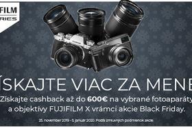 Fujifilm akcia Black Friday